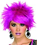 80s Pixie Wig (Purple) Adult Halloween Costume Accessory