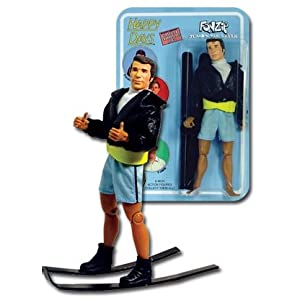 Happy Days Series 2 Fonzie Jumps The Shark Action Figure