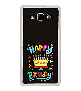 ifasho Wishing Happy birtday For Occassion Back Case Cover for Samsung Galaxy A8