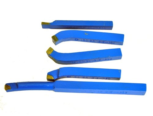 Carbide tip tool bit set 1/2