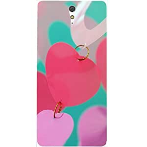 Casotec Heart Kissing Design Hard Back Case Cover for Sony Xperia C5 Ultra Dual