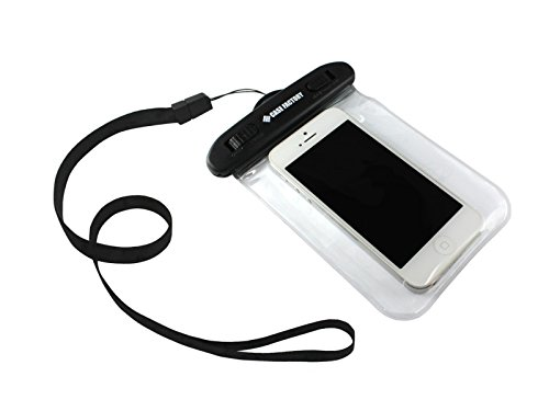 CASE FACTORY 防水ケース AQUA MARINA for iPhone5s/5c/5/4s/4  防水保護等級 IPX8 ネックストラップ付属 iPhone5s/5c/5にジャストサイズ! AAM-003 クリア