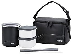 Thermos Thermal Insulated Lunch Box DBQ-501 Keep Warm Bento(Japan Import)