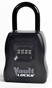 Vault Locks 5000 - Large and Heavy Duty - Key Storage Lock Box with Set Your Own Combination