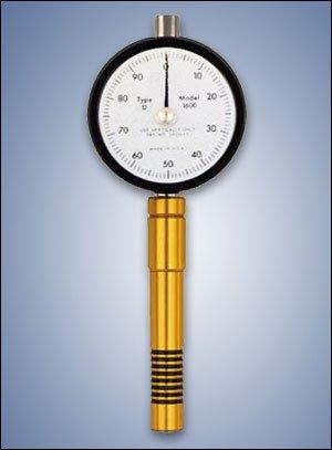 Rx-1600-D Type D Precision Dial Shore Durometer, Conforms To Astm D-2240