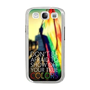 a AND b Designer Printed Mobile Back Cover / Back Case For Samsung Galaxy S3 (SG_S3_737)