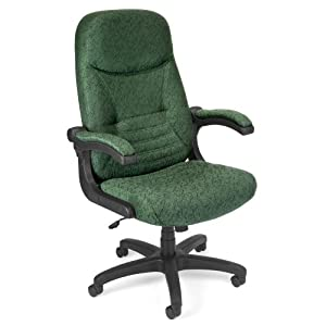 Conference MobileArm High Back Fabric Office Chair Wi