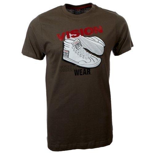 Vision Street Wear Sneaker T-Shirt , army green
