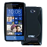 Empire Flexible S-Shape Poly Skin Noir Case for HTC Windows Phone 8S