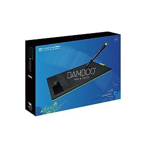 Wacom ペンタブレット Sサイズ ペン&タッチ Bamboo CTH-470/K0
