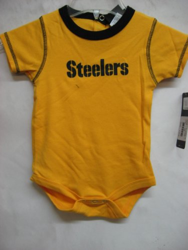 Pittsburgh Steelers NFL Infants Baby UNISEX Set of 3 Bodysuit - Onesie