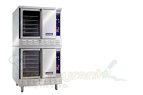 Imperial Commercial Convection Oven Double Deck Standard Depth Natural Gas Model Icv-2