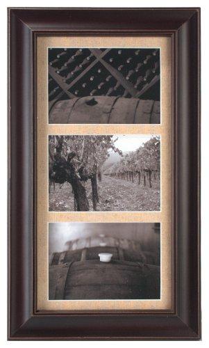 3 opening 5x7 frame malden international designs barnside portrait gallery 2 opening 5x7 textured mat dark walnut picture