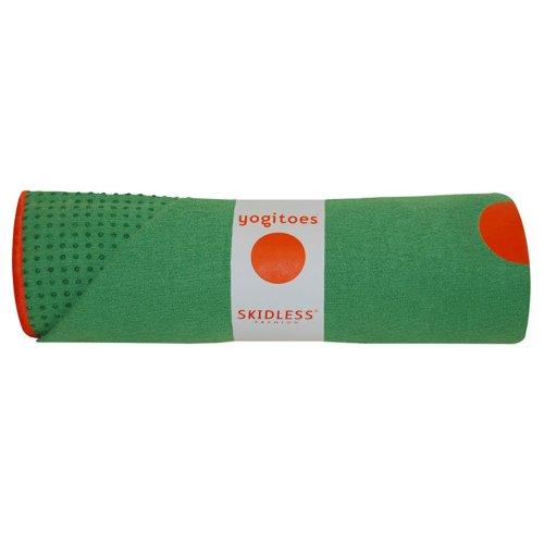 Imagen de Yogitoes Mat Skidless de Gran Tamaño de Yoga de toallas (Verde), Color Verde, Talla Mat (24
