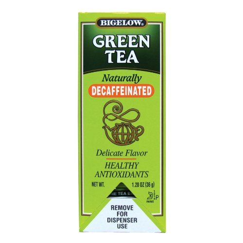 Bigelow Green Tea Decaf Stick Tea - 28 Bags (Pack Of 6) front-477676