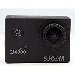 SJCAM WIFI SJ4000 Black Action Sport Cam Camera Waterproof Full HD 1080p 720p Video Helmetcam + battery + charger