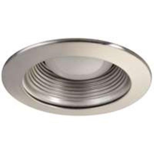"Baffle Trim Recessed Light Fixture Trim, For use with 4"" recessed lights, Brushed Nickel"