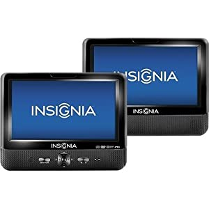 Insignia Portable DVD Player with 9