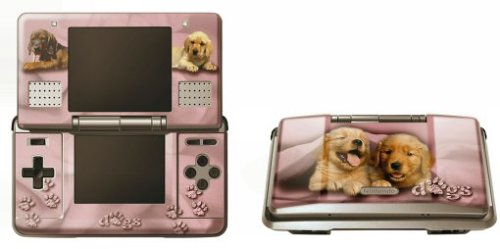 Pebble Entertainment Pink Dogs Graphic Skin (Nintendo DS)