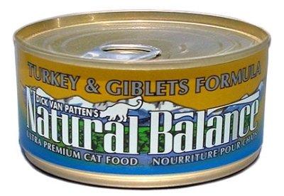 Natural Balance Pet Foods - Turkey/Giblet Cat Can 24/3Oz Case **