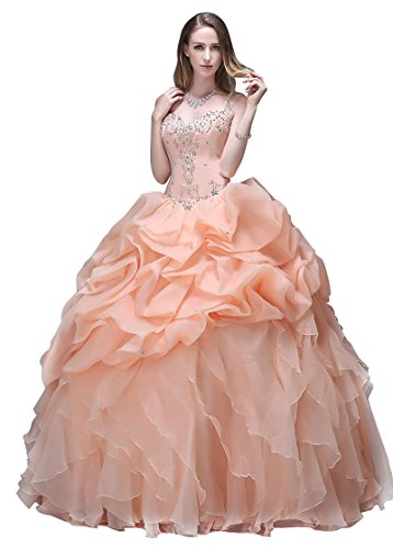 Adasbridal-Vestidos-de-quinceanera-vestido-de-bola-de-Preciosa-Organza-de-rizados-con-escote-corazon