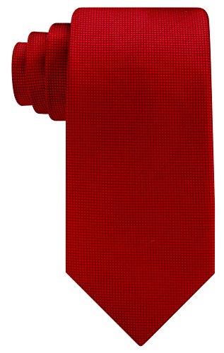 Scott Allan Mens Micro Dot Necktie - Burgundy (Scott Allan Red Ties compare prices)