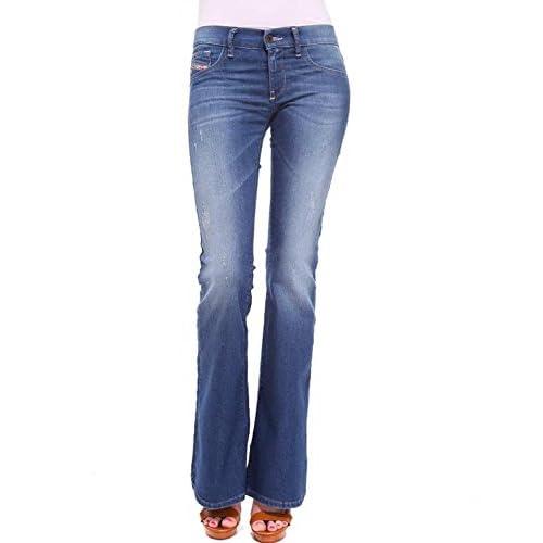 Women's Diesel LIVIER FLARE 69S Skinny Low Waist Flare Jeans