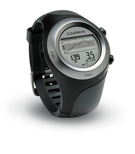 Garmin Forerunner 405 Water Resistant Running GPS With Heart Rate Monitor (Black) (Factory Refurbished)