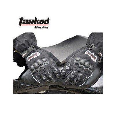 防寒グローブTanked Racing -TCV22バイク用グローブ 秋冬モデル 防水保温機能付き XL 9CM~10CM