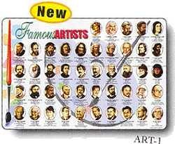 Famous Artists Placemat
