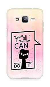Amez You can Do It! Back Cover For Samsung Galaxy J2