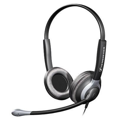 Binaural Headset W/ Xl Ear Cap