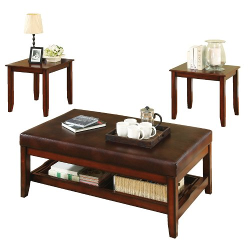 Buy Low Price Steve Silver Brewster Cherry Coffee Table