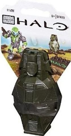Mega Bloks Halo Metallic Green ODST Toy Figure - 1