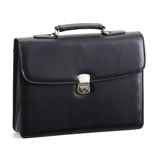 合皮製かぶせクラッチバッグ(小)【A4ファイルサイズ対応・日本製・豊岡製】23467-01クロ