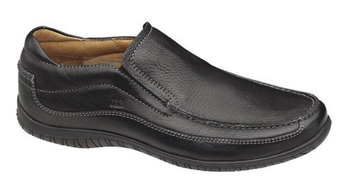 Johnston & Murphy Men's Cawood Slip-On,Black,9 M US