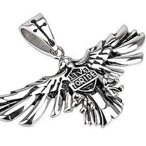 Amazon.com: Pegasus Body Jewellery Stainless Steel Biker Love To Ride