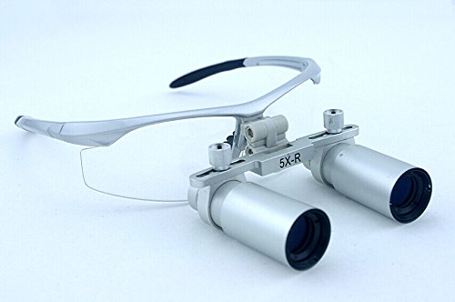 Dental Surgical Medical Binocular Optical Glasses Loupes 5.0X 420Mm With Very High Brightness And Ultra-Light