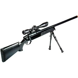 UTG Gen 5 AccuShot Competition Master Sniper Rifle, Black