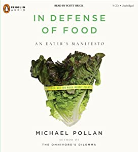 "Cover of ""In Defense of Food: An Eater's ..."