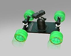 Camtree Flexible Skater Wheel Dolly Tabletop Camera Rolling Slider Floor Track Car Video Dolly for Camera Payload capacity upto 4 kg DSLR Camera Nikon Canon Sony ...