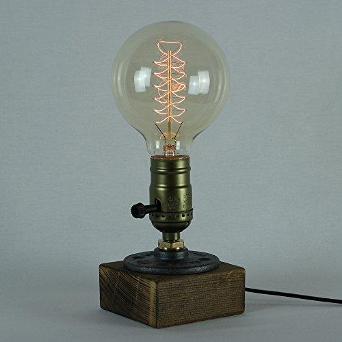 Lampadina Edison 60W - Globo Spirale 95mm Vintage Industriale E27 - The Retro Boutique ...