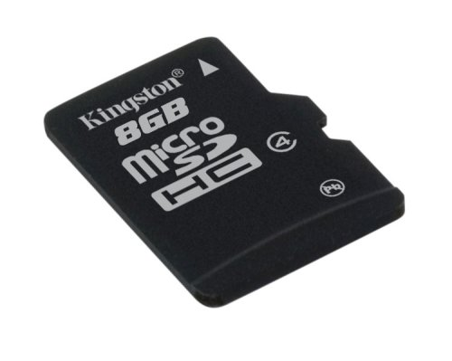 Kingston SDC4/8GB microSDHC Karte - Klasse 4 - 8GB ohne Adapter