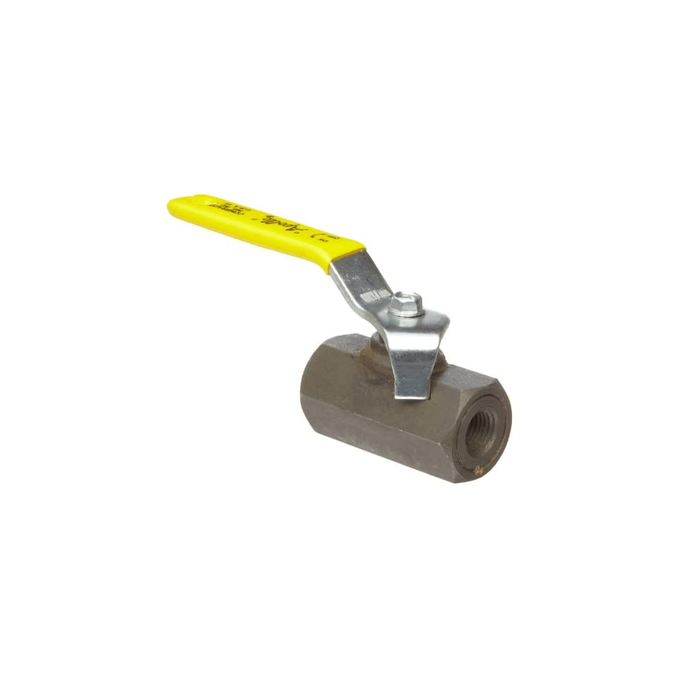 Apollo 93 140 Series Carbon Steel Ball Valve with Stainless Steel 316 Ball and Stem, Unibody, Inline, Lever, 1 NPT Female