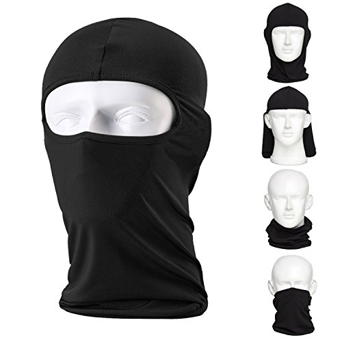 CAILEK Balaclava Ski Mask (2 Pack) Bicycle Premium Face Mask for Outdoors Riding Tactics Go Fishing Dustproof Cold Motorcycle Headgear Mask (Bicycle Rain Gear For Men compare prices)