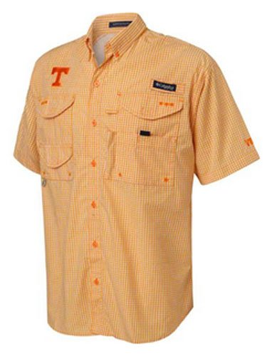 Columbia Columbia Men's Collegiate Bonehead S/S Shirt ORANGE S