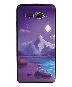 Techno Gadgets Back Cover for Intex Aqua 3G Strong