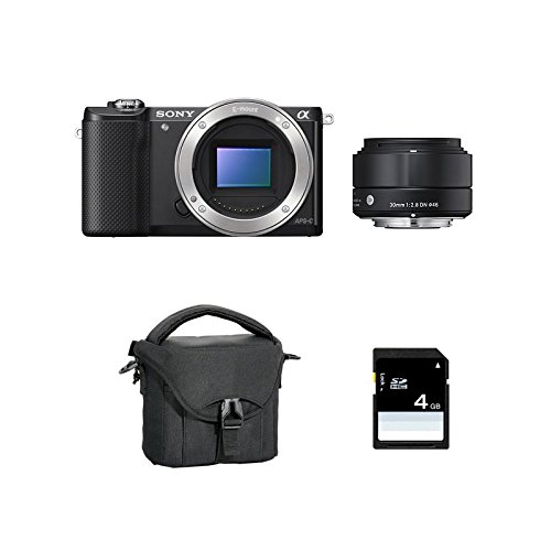 SONY ALPHA 5000 NOIR + SIGMA 30mm + FT + SD4