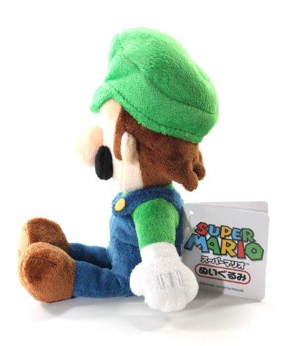 New luigi soft stuffed plush toy super mario plush 8 japanese import
