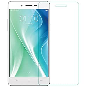OPPO MIRROR 5 A51T VIPAR PREMIUM 2.5D Scratch Resistant & Optical Clarity Curved Edge Tempered Glass/Toughened Screen Protector By VIPAR